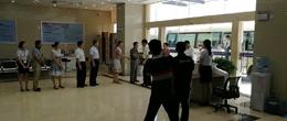 省委常委、市委书记龚建华,市长郭安等领导莅临新落成南昌法律服务中心